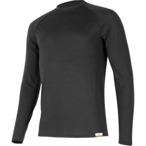 Ισοθερμική  Μπλούζα Μάλλινη Merino Atar - Lasting - Μαύρη-Λαδί- Ισοθερμικά
