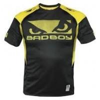 Μπλουζάκι Bad Boy Performance walk in tee black/yellow