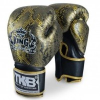 Γάντια TOP KING SNAKE BLACK/GOLD