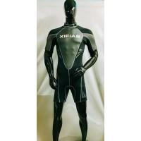 Monoshorts Στολή Water Sports - Με Φερμουάρ Πίσω - 3mm